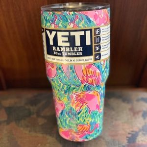 Flamingo Lilly Pulitzer Yeti Flamingo Yeti cup